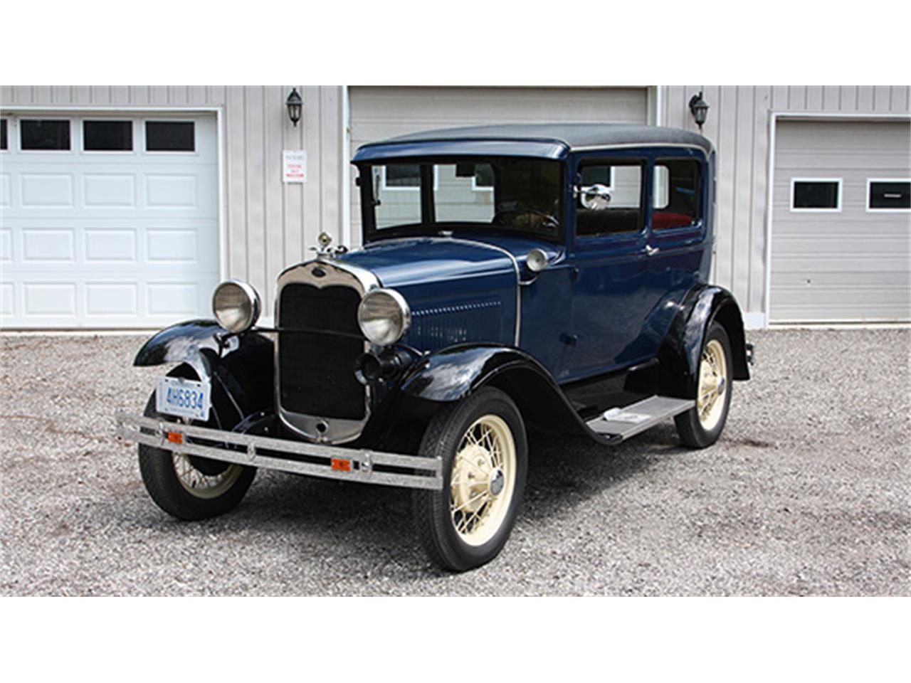 1930 Ford Model A Tudor Sedan for sale #81566 | MCG