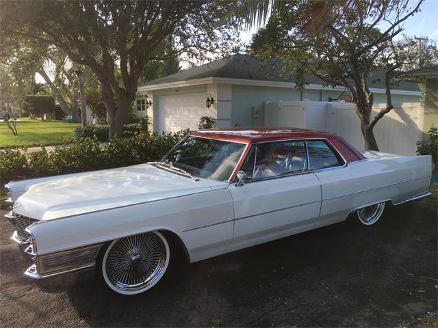 1965 Cadillac DeVille (CC-1005076) for sale in Boynton Beach , Florida