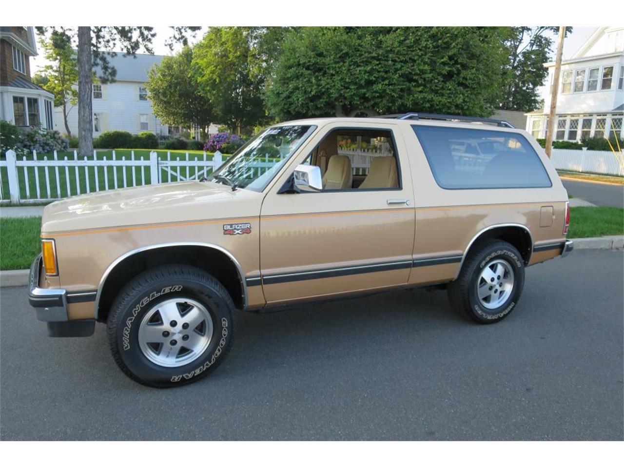 1986 chevrolet blazer for sale classiccars com cc 1007078 1986 chevrolet blazer for sale