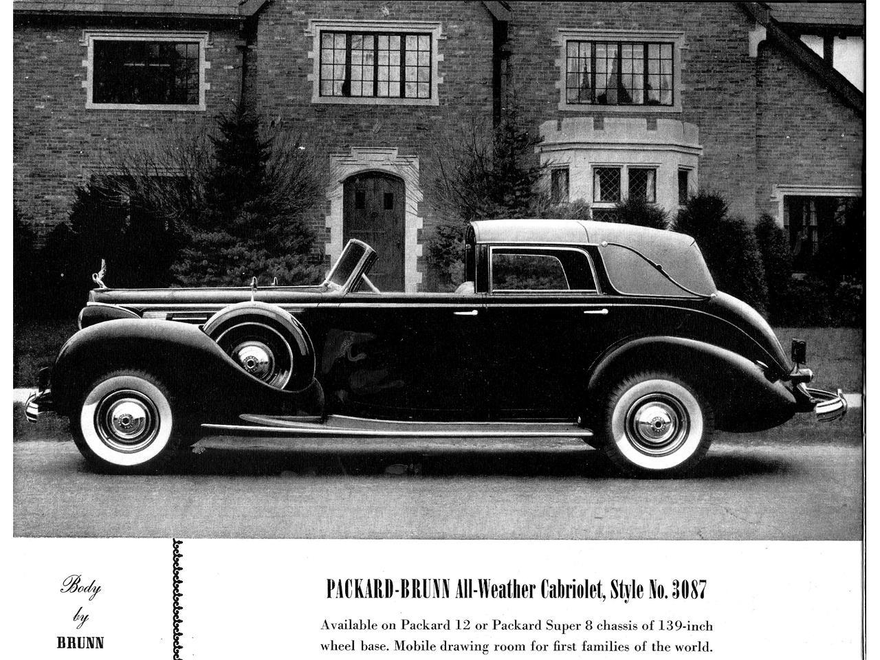 1938 Packard Twelve Brunn for Sale | ClassicCars.com | CC-1007403