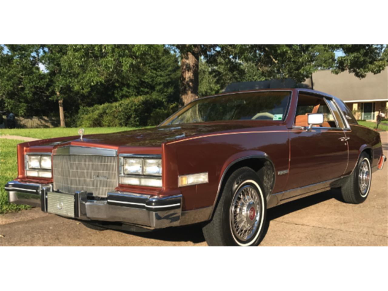 1983 cadillac eldorado for sale classiccars com cc 1009868 1983 cadillac eldorado for sale