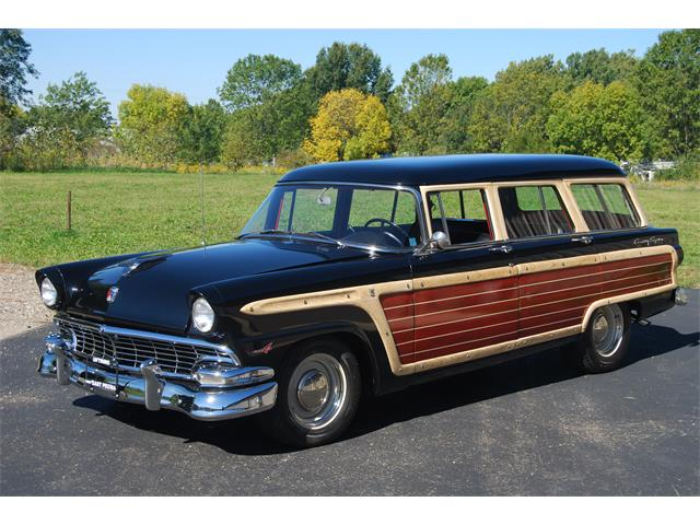 1956 Ford Country Squire (CC-1011669) for sale in East Peoria, Illinois