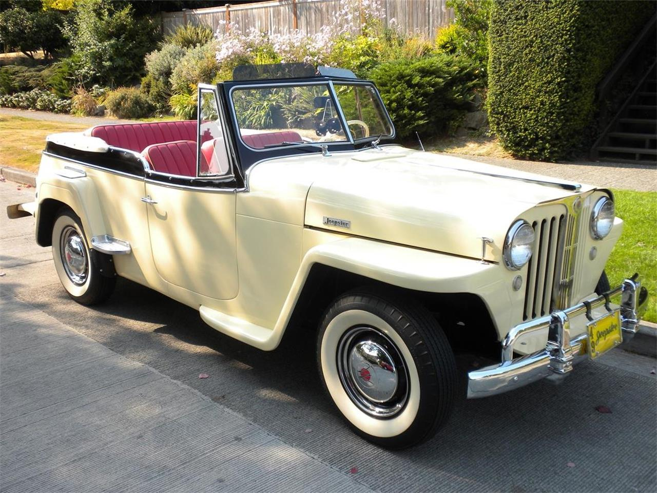 1949 Willys-Overland Jeepster (CC-1013265) for sale in Seattle, Washington