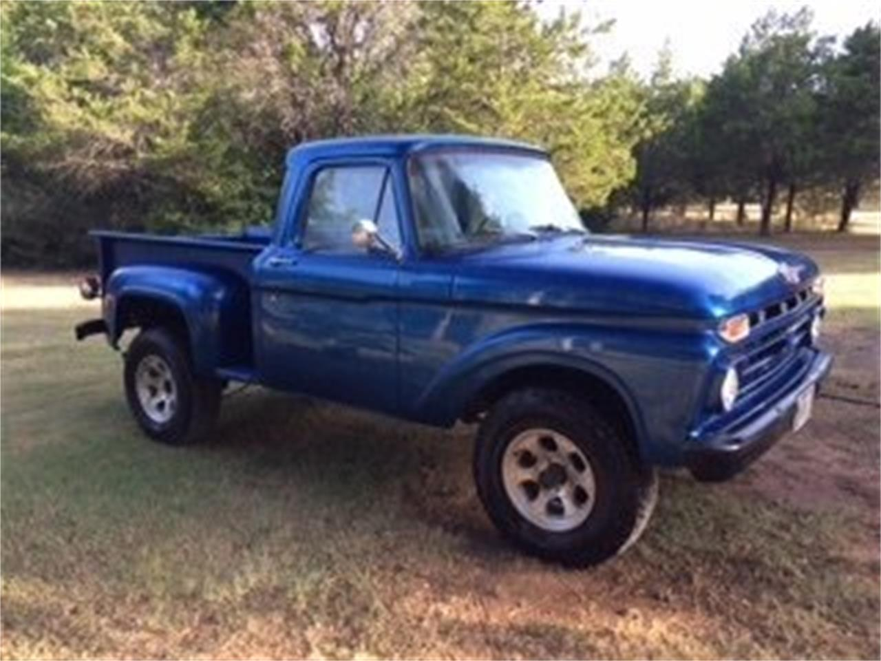 1966 Ford F100 Stepside 4x4 For Sale Classiccars Com Cc 1015598