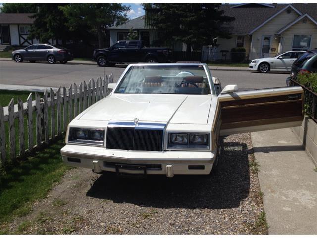 1983 Chrysler LeBaron (CC-1015719) for sale in Calgary, Alberta