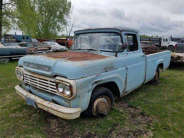 1959 Ford F100 (CC-1016646) for sale in Crookston, Minnesota