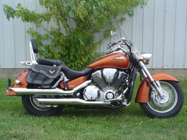2002 Honda Motorcycle