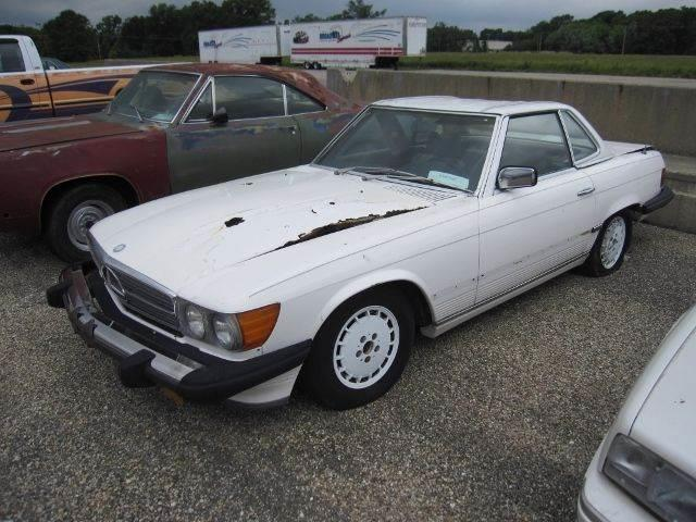 1976 Mercedes-Benz 450SL (CC-1010881) for sale in Effingham, Illinois