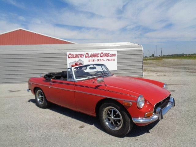 1970 MG MGB (CC-1019603) for sale in Staunton, Illinois