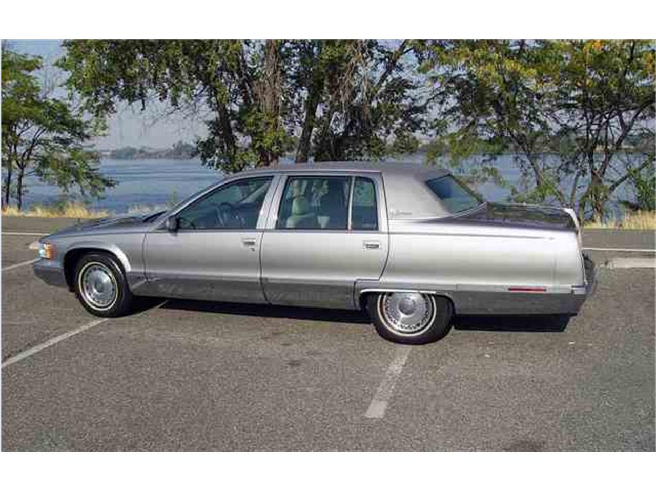 1995 cadillac fleetwood brougham for sale classiccars com cc 1022373 1995 cadillac fleetwood brougham for
