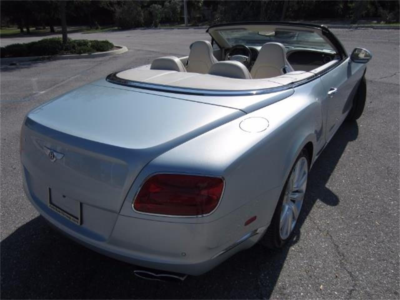 2013 Bentley Continental GTC V8 For Sale