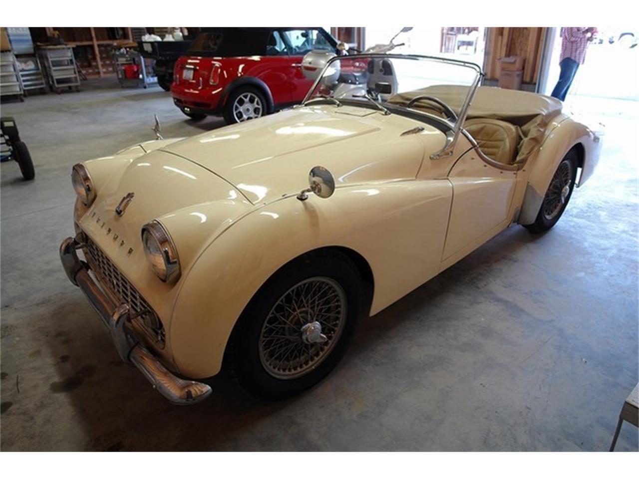 1961 Triumph TR3 (CC-1024441) for sale in Liberty Hill, Texas