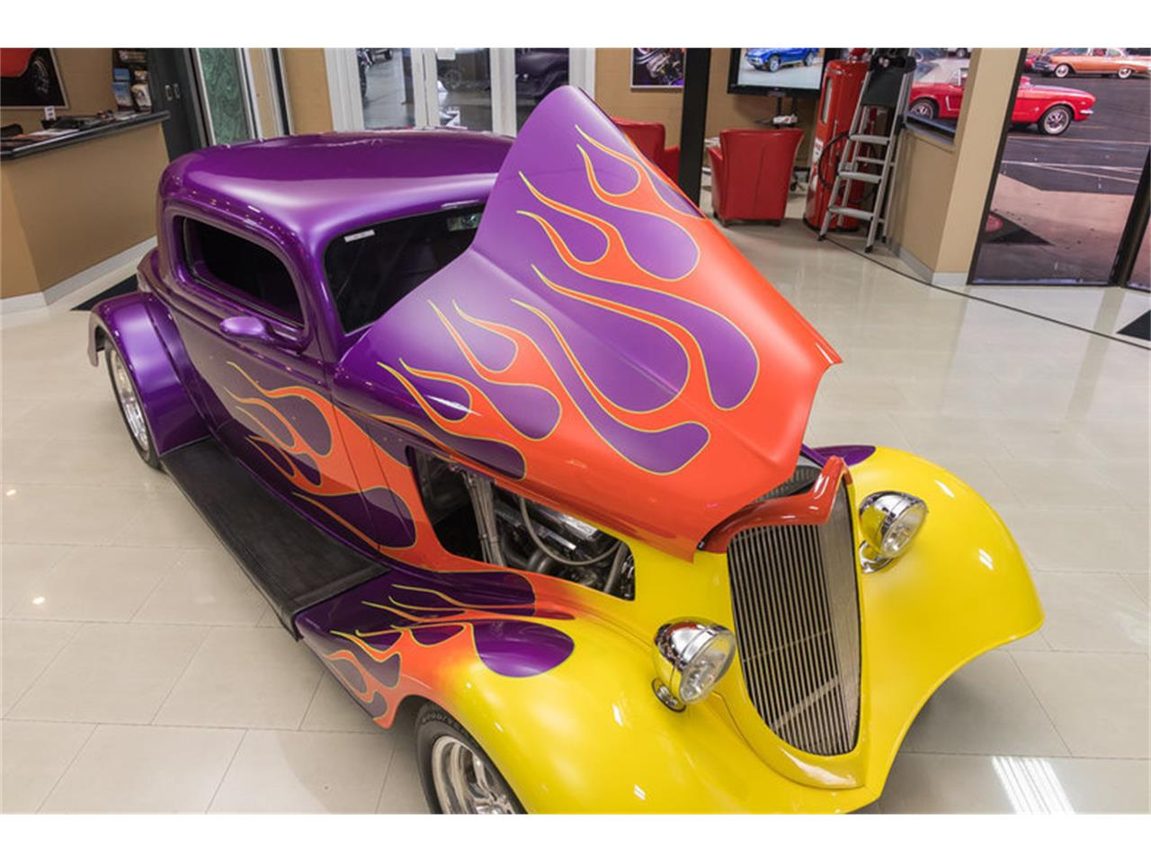 1934 Ford 3-Window Coupe Street Rod for Sale | ClassicCars ...