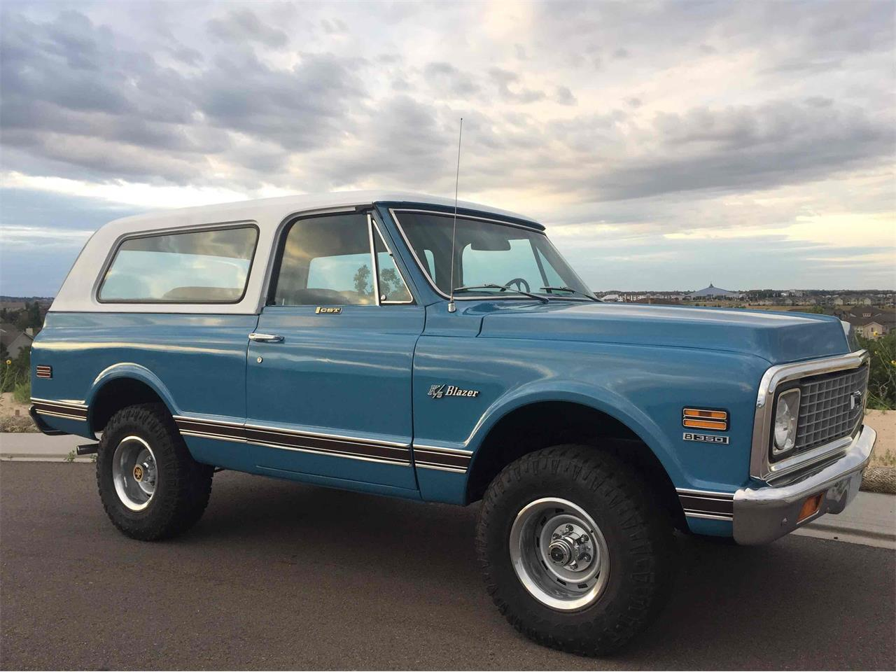 1972 Chevrolet Blazer (CC-1036156) for sale in Colorado Springs , Colorado