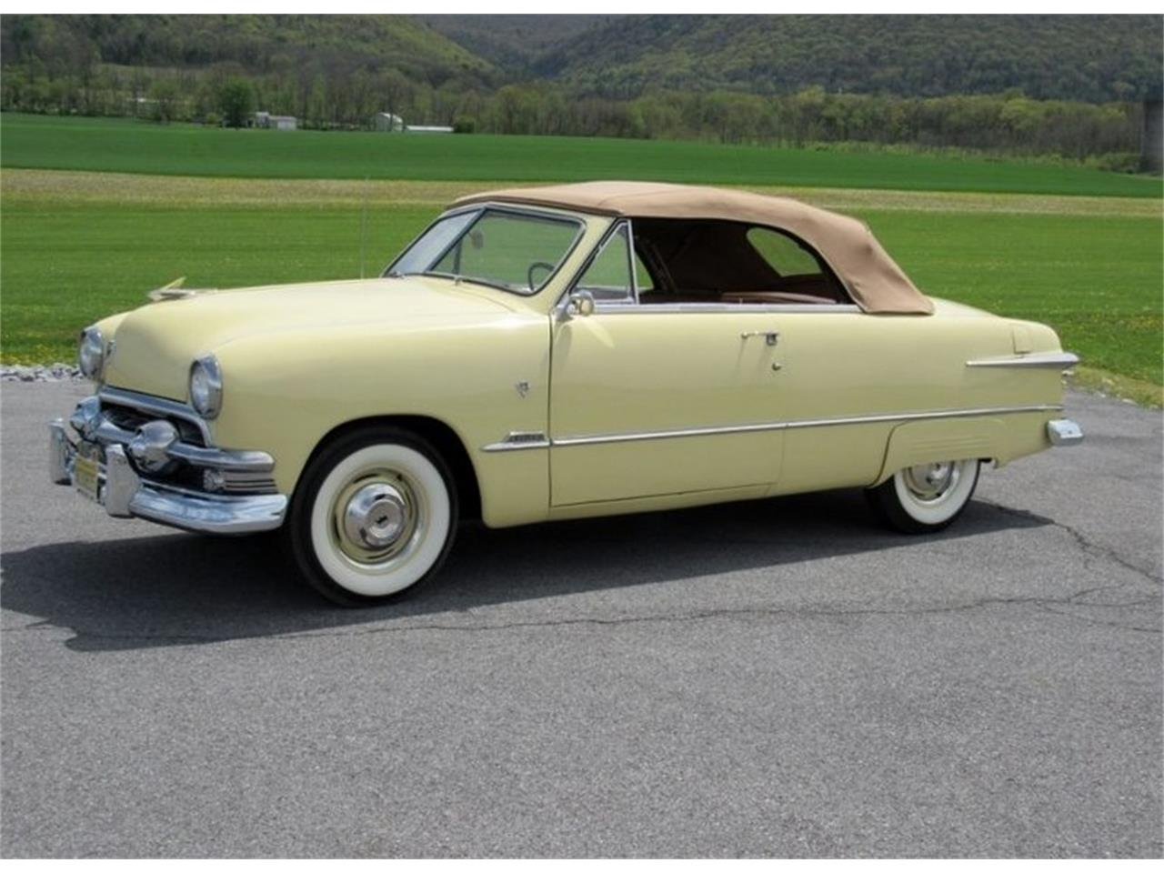 1951 Ford Convertible For Sale Classiccars Com Cc 1037908