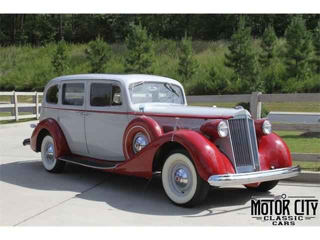 1937 Packard Super Eight