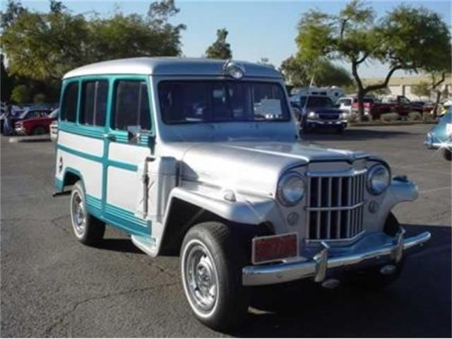1955 Willys Overland Station Wagon (CC-1044446) for sale in Ft. Worth, Texas