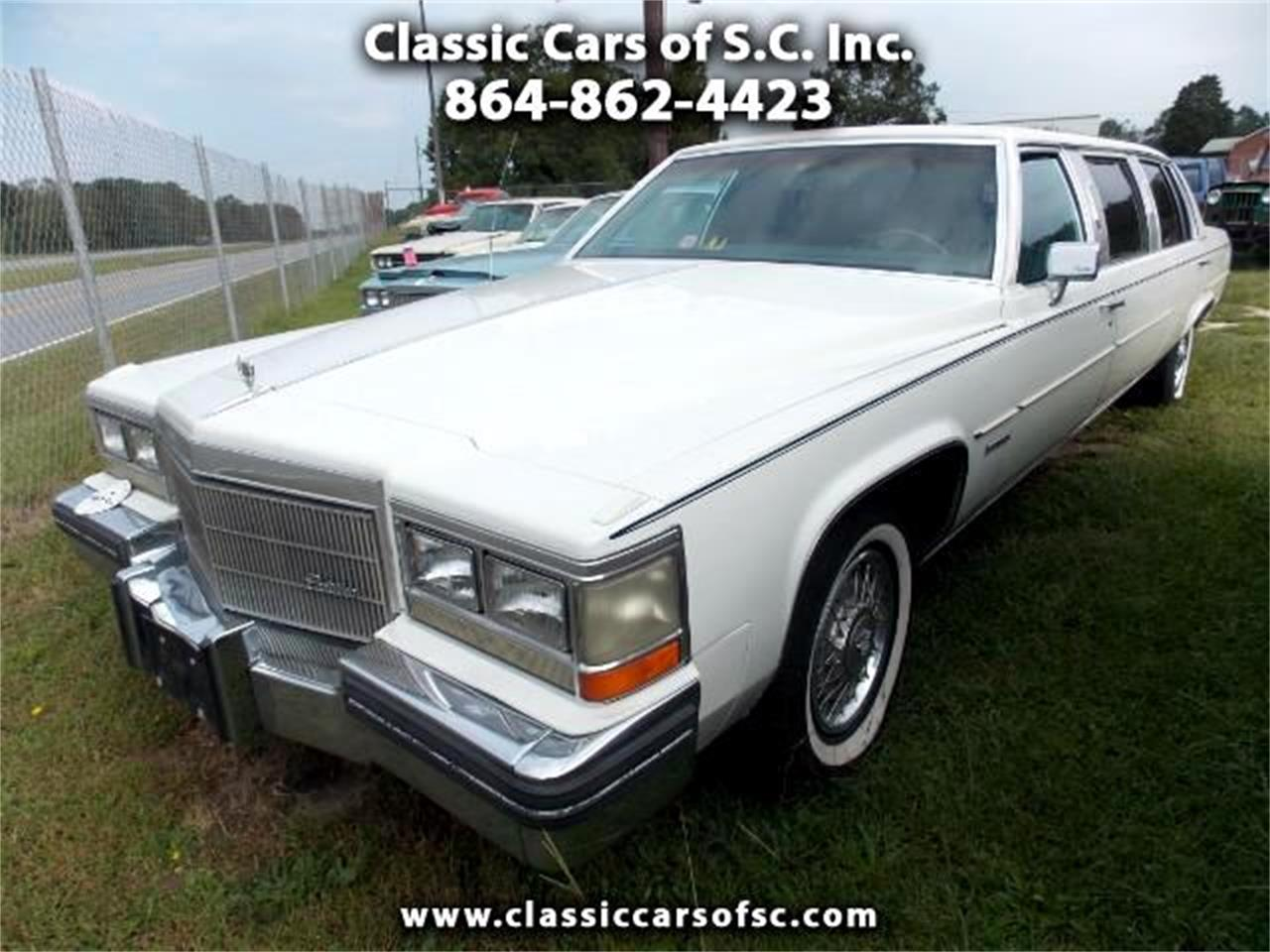 1983 Cadillac Limousine (CC-1045339) for sale in Gray Court, South Carolina