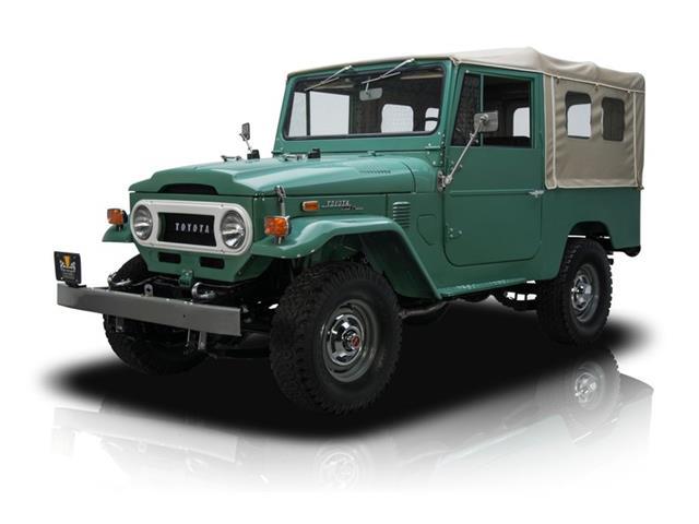 1972 Toyota Land Cruiser FJ