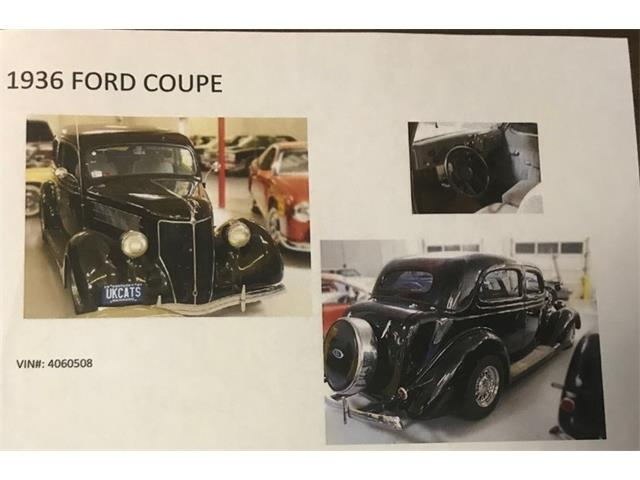 1936 Ford Coupe (CC-1048836) for sale in Dayton, Ohio