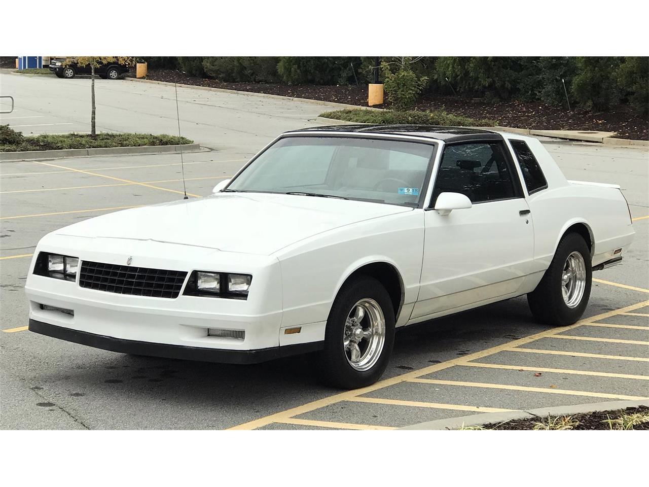 Ss Monte Carlo >> 1988 Chevrolet Monte Carlo Ss For Sale Classiccars Com