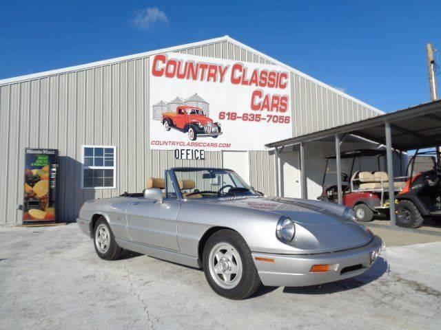 1991 Alfa Romeo Spider (CC-1053027) for sale in Staunton, Illinois