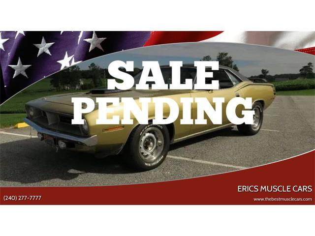 1970 Plymouth Barracuda (CC-1055375) for sale in Clarksburg, Maryland