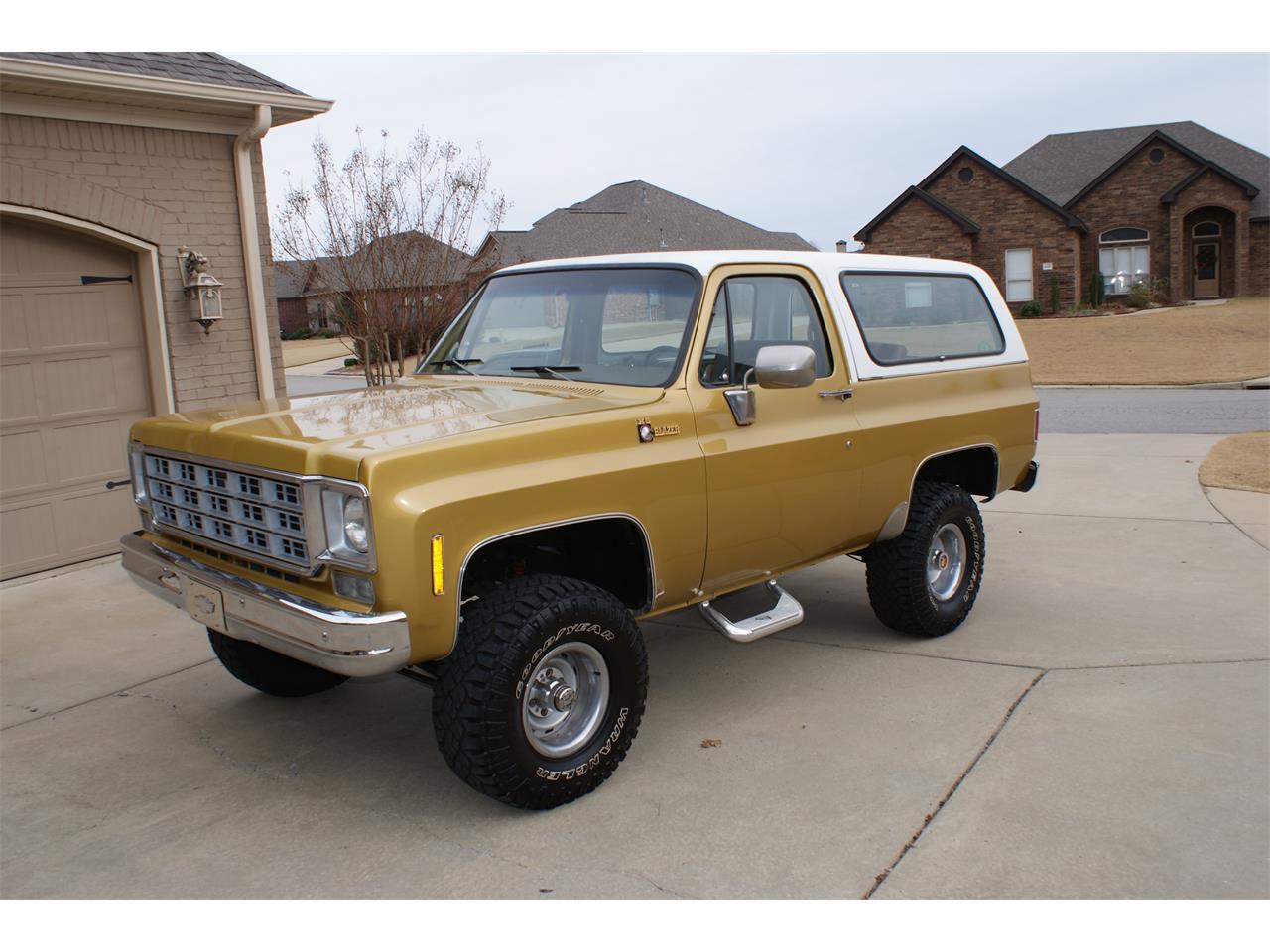 1976 Chevrolet Blazer For Sale Classiccars Com Cc 1050555