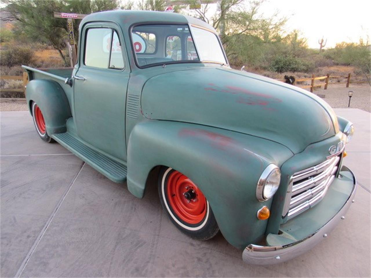 1951 Gmc 5 Window Pickup For Sale Classiccars Com Cc 1056361