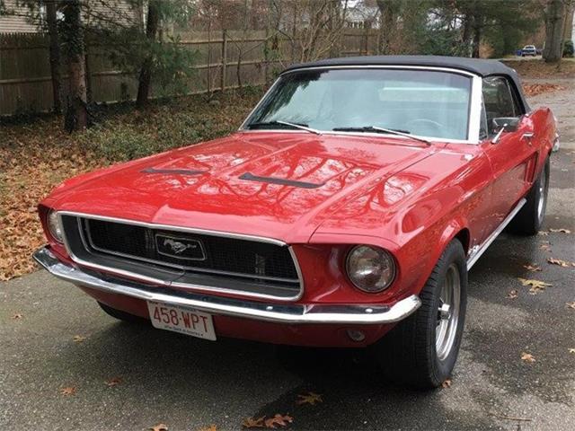1968 Ford Mustang (CC-1057888) for sale in Attleboro, Massachusetts