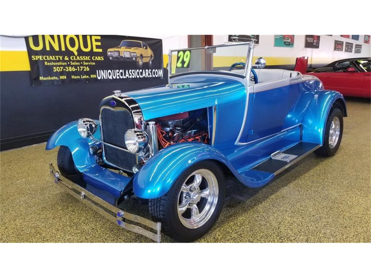 1929 Ford Model A Roadster Street Rod For Sale Classiccars Com Cc 1058511