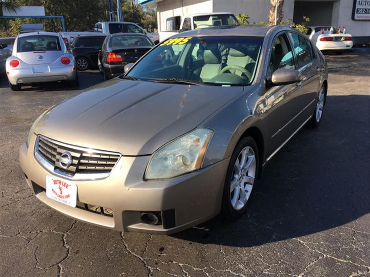 07 Nissan Maxima >> 2007 Nissan Maxima For Sale Classiccars Com Cc 1059081