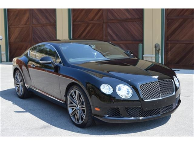 2014 Bentley Continental (CC-1050925) for sale in San Antonio, Texas