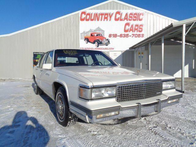 1987 Cadillac DeVille (CC-1059579) for sale in Staunton, Illinois