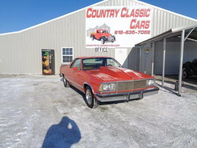 1980 Chevrolet El Camino (CC-1059589) for sale in Staunton, Illinois