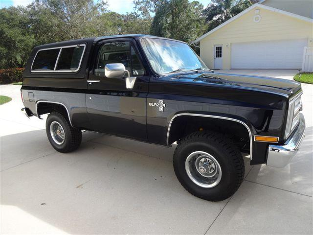 1985 Chevrolet Blazer (CC-1062385) for sale in Sarasota, Florida