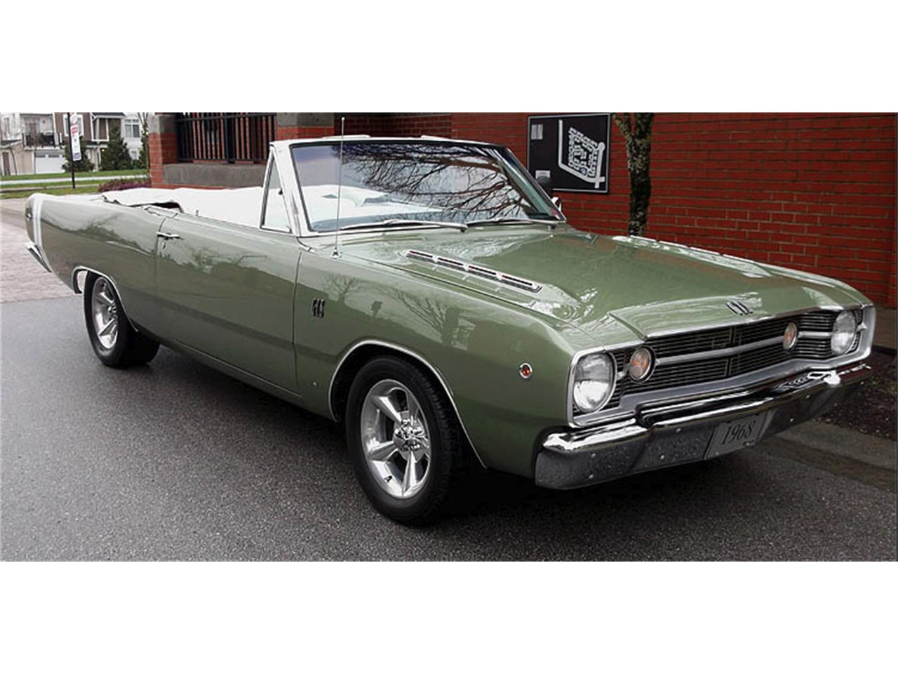1968 Dodge Dart Gts For Sale Classiccars Com Cc 1065031