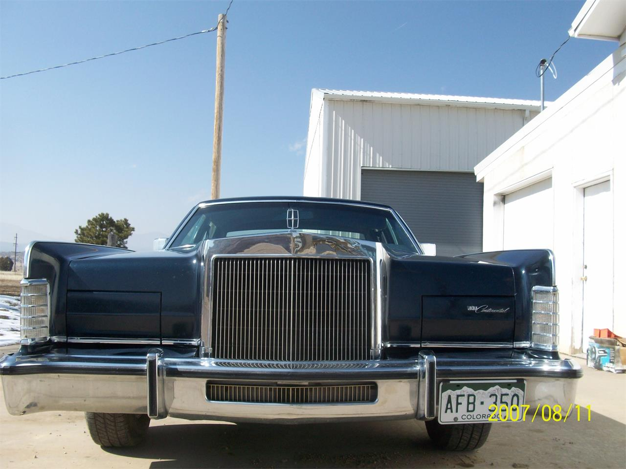 1979 Lincoln Continental (CC-1066501) for sale in Beulah, Colorado