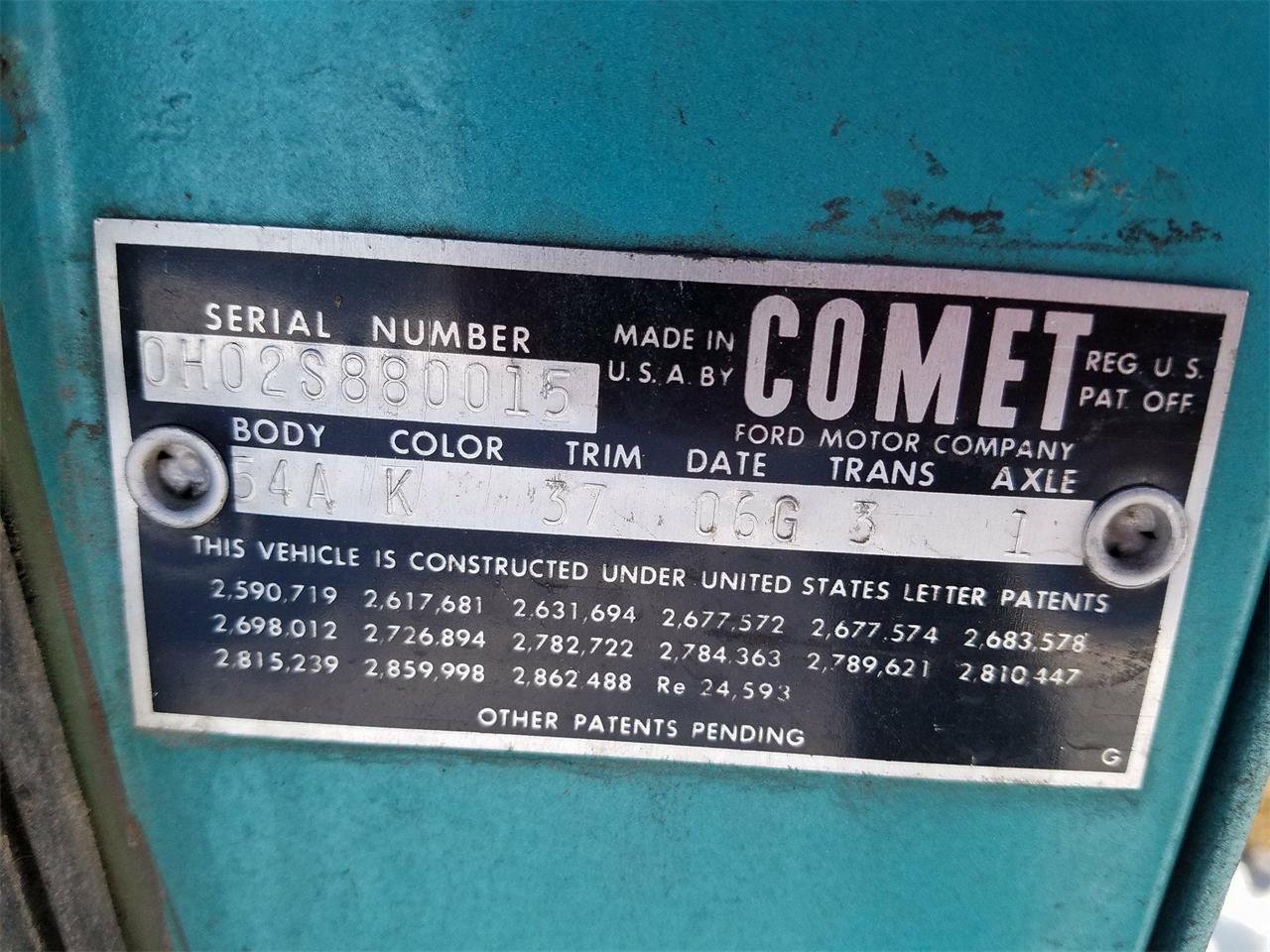 1960 Mercury Comet (CC-1066506) for sale in Crookston, Minnesota