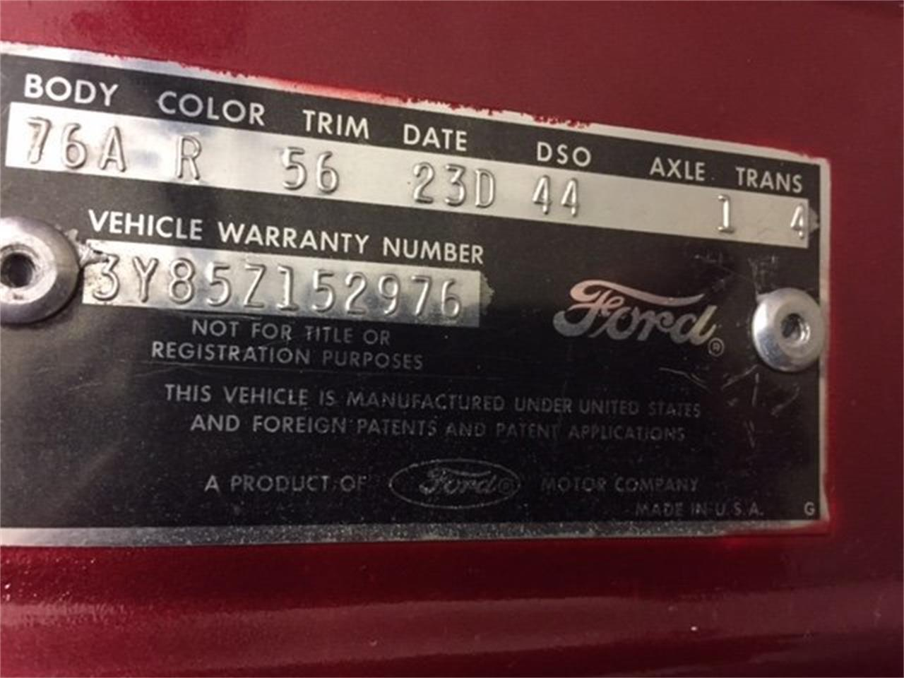 1963 Ford Thunderbird (CC-1068714) for sale in Milford, Ohio