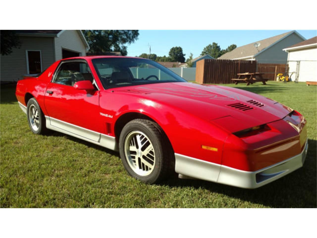 1986 pontiac firebird trans am for sale classiccars com cc 1072621 1986 pontiac firebird trans am for sale