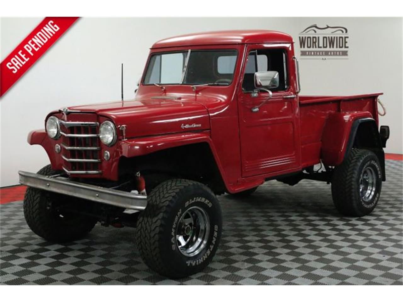 Willys Jeep Truck For Sale >> 1952 Jeep Willys For Sale Classiccars Com Cc 1075987