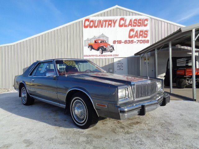 1983 Chrysler Cordoba (CC-1077748) for sale in Staunton, Illinois