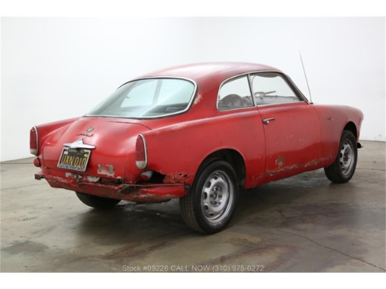 1960 Alfa Romeo Giulietta Spider (CC-1077951) for sale in Beverly Hills, California