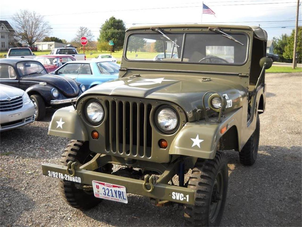 1955 Jeep CJ5 (CC-1078032) for sale in Ashland, Ohio