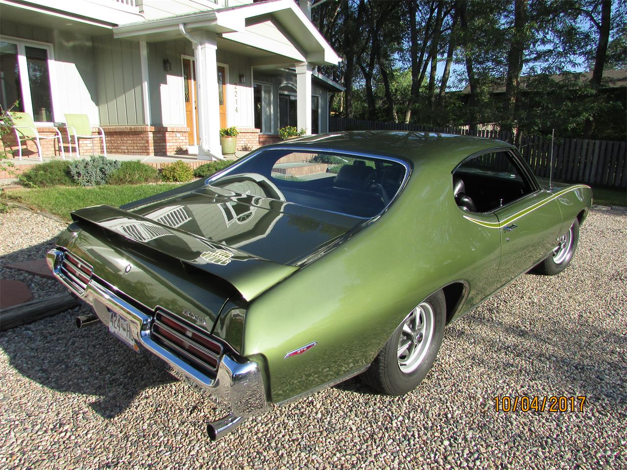 1969 Pontiac GTO (The Judge) (CC-1078181) for sale in Fort Collins, Colorado