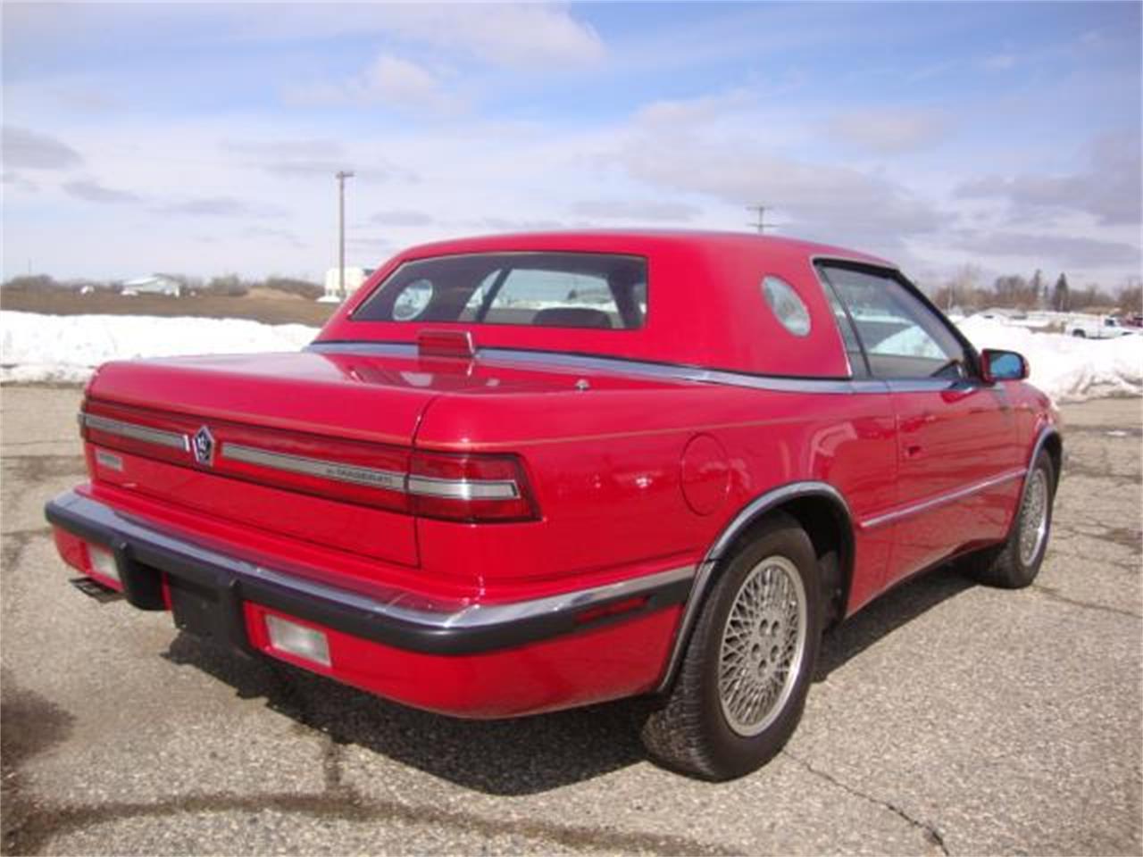 1989 Chrysler TC by Maserati (CC-1081597) for sale in Milbank, South Dakota