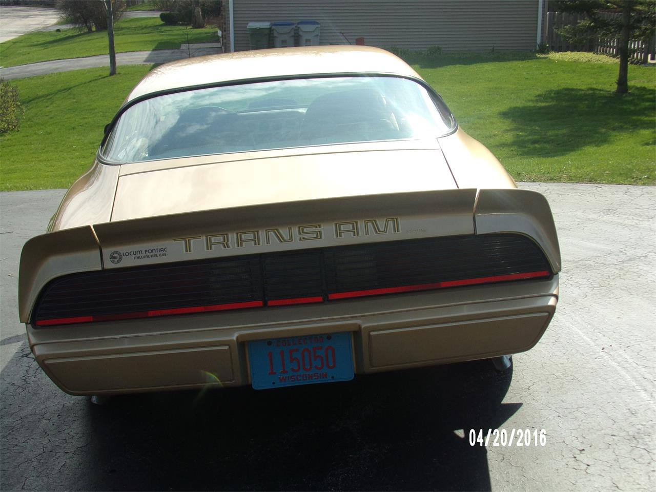 1979 Pontiac Firebird Trans Am (CC-1081646) for sale in Milwaukee, Wisconsin
