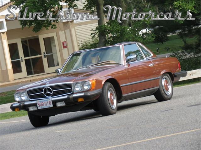 1977 Mercedes-Benz 450 (CC-1081963) for sale in North Andover, Massachusetts