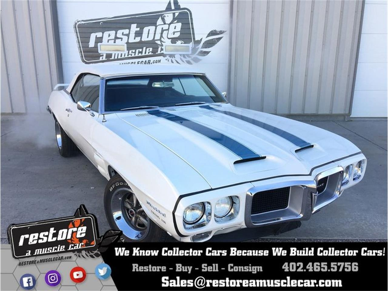 1969 Pontiac Firebird (CC-1082221) for sale in Lincoln, Nebraska